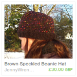 Brown Speckled Hat