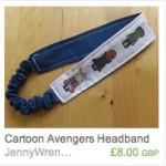 Avengers (blue) Headband