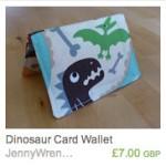 Dinosaurs Wallet
