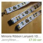 Minions Ribbon Lanyard