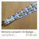 Minions Lanyard
