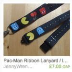 Pac-Man Lanyard