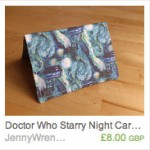 Doctor Who Starry Night Wallet
