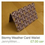 Stormy Weather card wallet