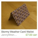 Stormy Weather Wallet
