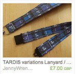 TARDIS Variations Lanyard