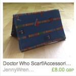 Doctor Who Scarf Wallet